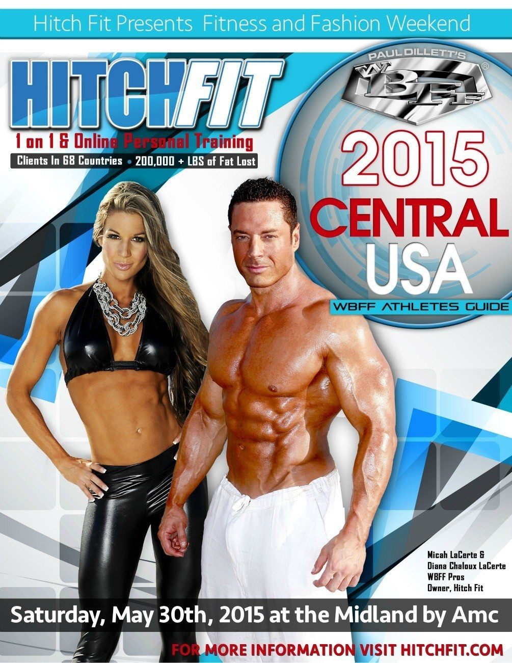 WBFF Atheletes Guide Cover 2015 - smaller