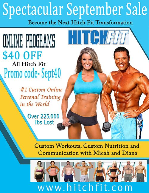 Hitch Fit sale September 2015!