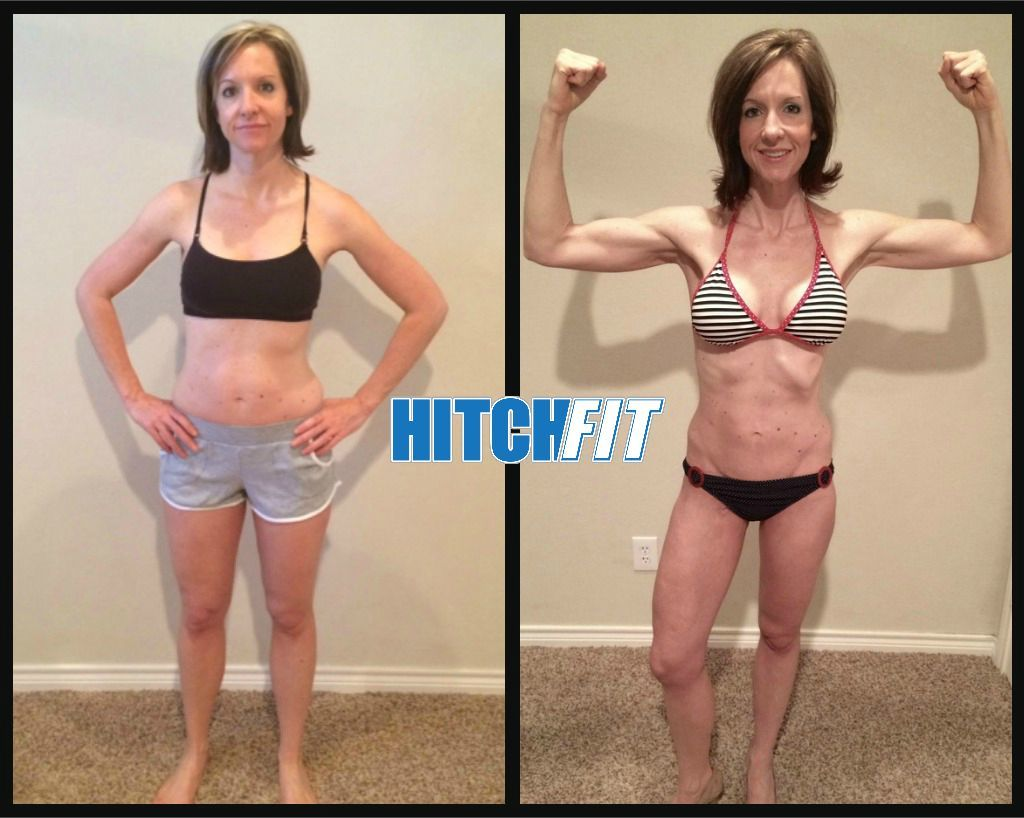 Holly H. before and after front