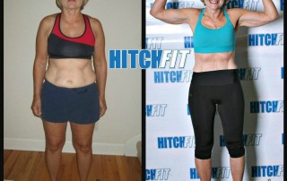Nancy R. before and after front