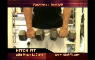 Dumbbell Forearm Curls