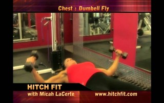 Flat Bench Dumbbell Fly