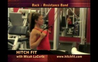 Resistance Band Lat Pull Down