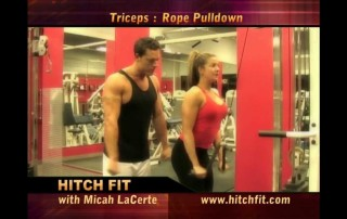 Tricep Rope Pull Down