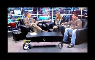 Fitness Celebrities Promote Kansas City Fitness Magazine On KCTV5