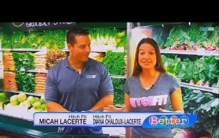 Grocery Shopping At Whole Foods Market With Hitch Fit