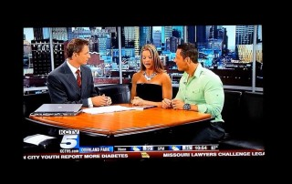 Kansas City Personal Trainers Micah And Diana Of Hitch Fit On KCTV5