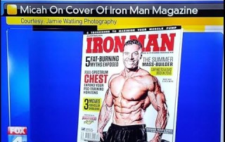 Skinny To Ironman Cover Fitness Model Micah LaCerte On Fox News