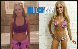 Kristin F. Before and After Competition Prep