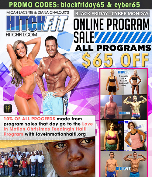 Hitch Fit Black Friday - Cyber Monday Sale November 2015!