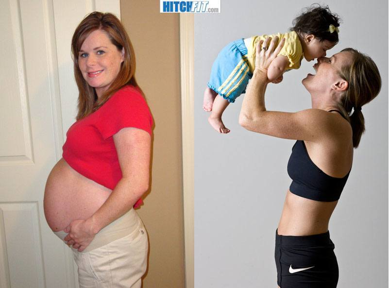 how to lose weight post pregnancy