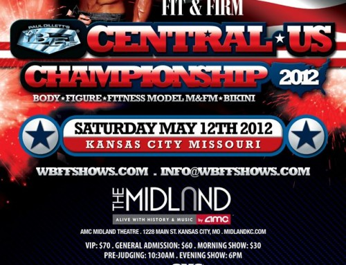 WBFF Central Championships Fitness Show - Kansas City May 25, 2013!!