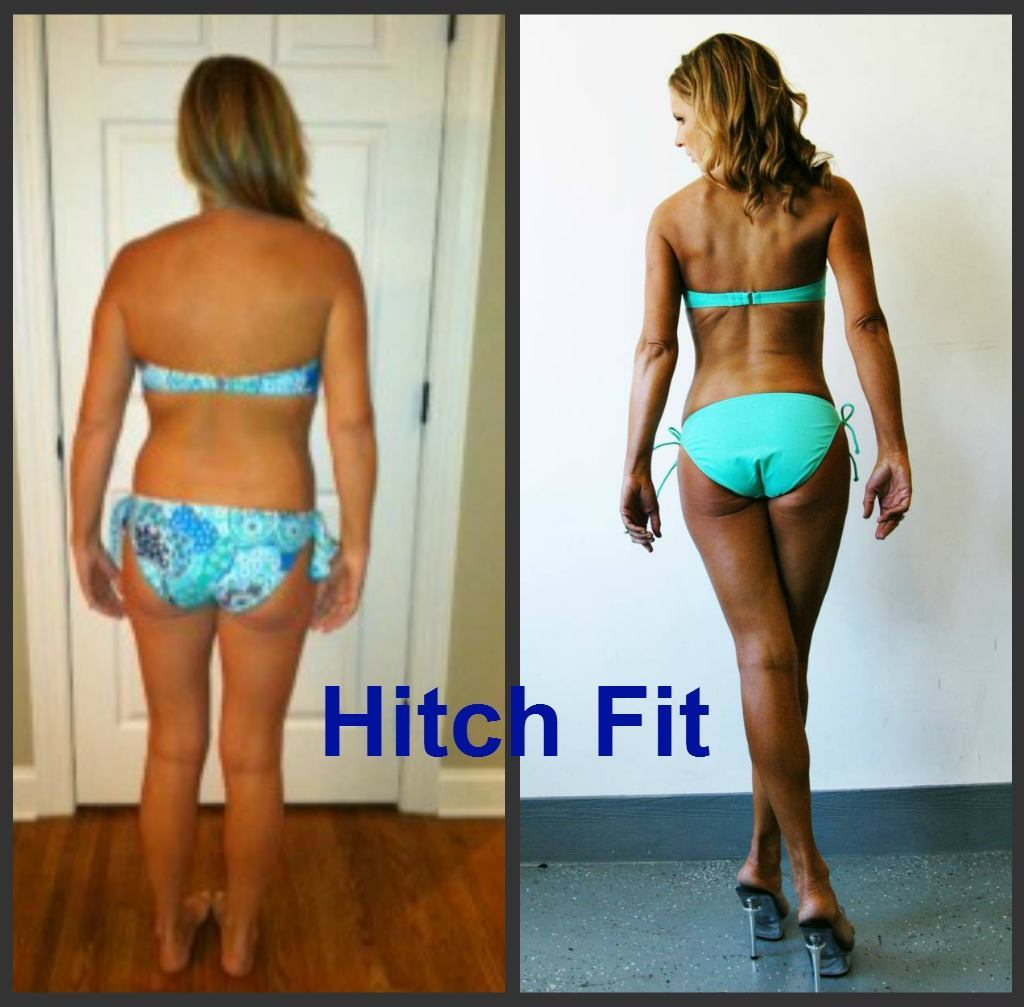 Fitness Model Before and After Weight Loss
