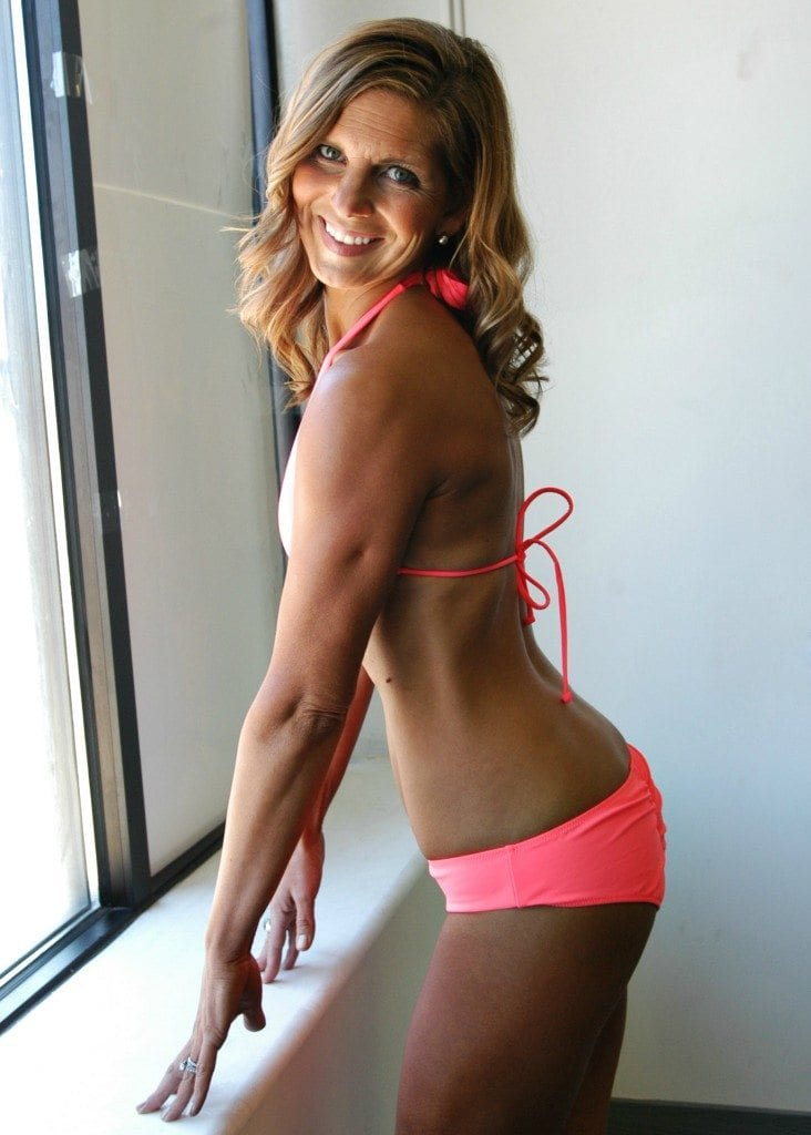 How to get in bikini fitness shape