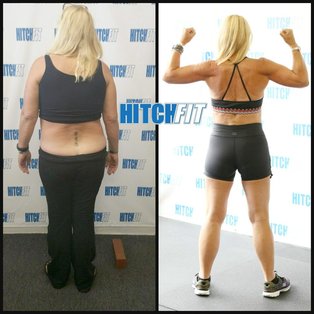 Fit over 50 - Before and After Weight Loss of Belinda at age 55
