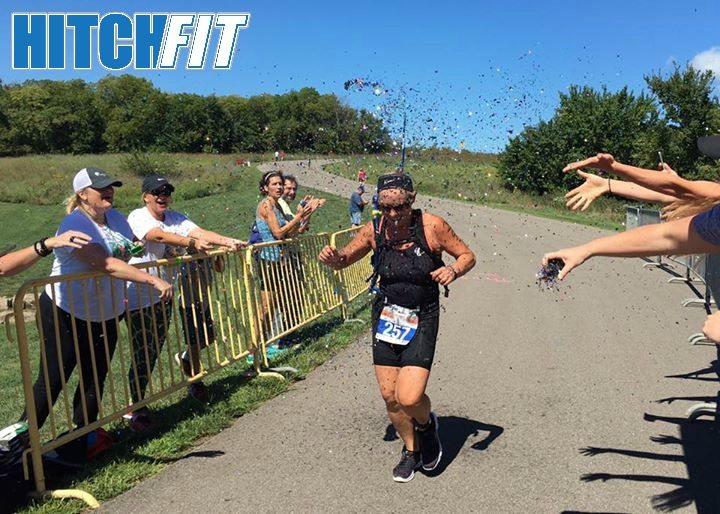 55 and Fit - Entrepreneur loses the weight and competes in triathalon