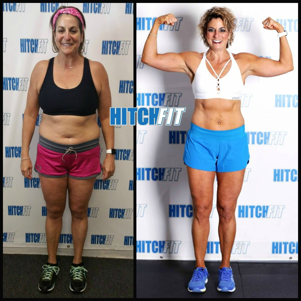 Must See Fit Over 40 Female Body Transformation At this point i had lost over 20lbs and. hitch fit