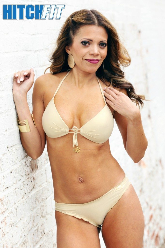 fit latina bikini body
