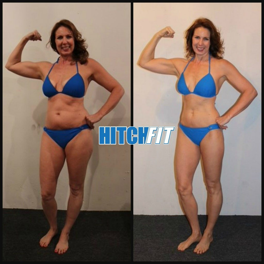 Fit Over 50 Bikini Body Working out everyday to keep looking in great shape. hitch fit