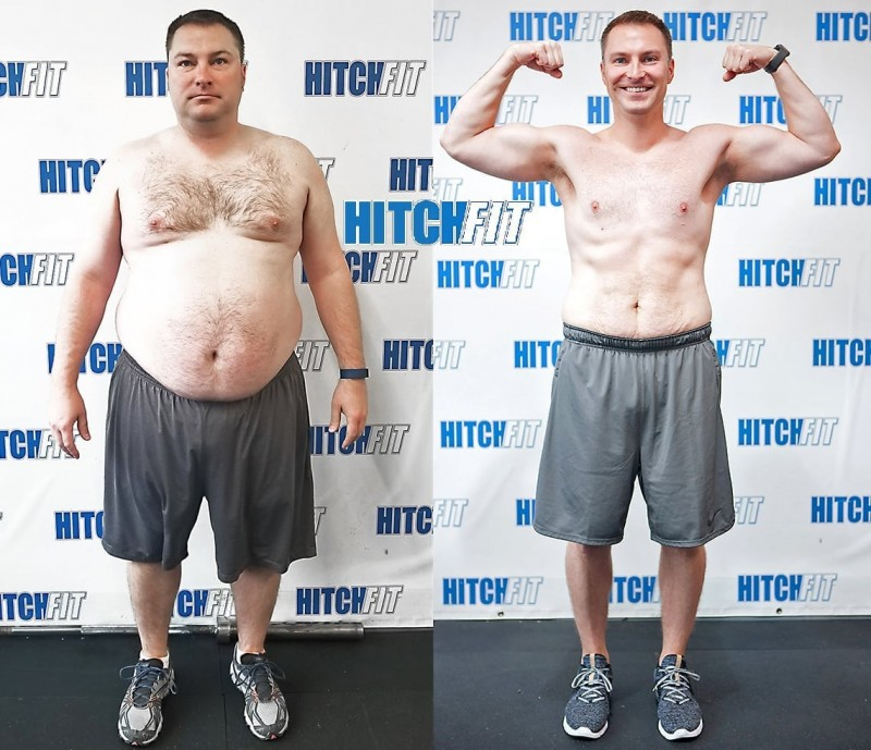 86 Pound Weight Loss Journey Busy Family Guy Has Epic Transformation